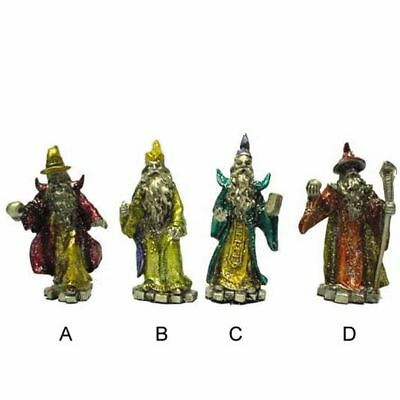 PEWTER WIZARD FIGURES figurines gifts novelties toys