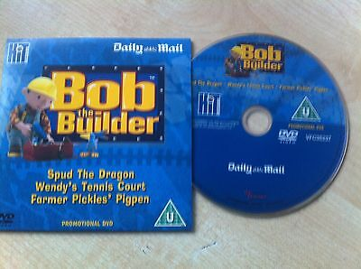 Bob the Builder DVD 3 Great Episodes Spud The Dragon & Two Others (Daily Mail)