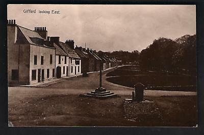 Gifford. Looking East by C. Bruce, Haddington.