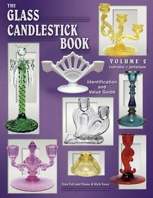 The Glass Candlestick Book Vol Volume 2 Price ID Guide