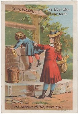 Victorian Trade Card for Acme Soap