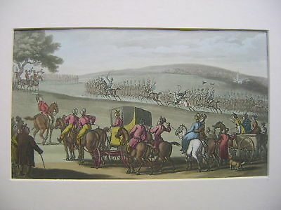 Engravings Dr.syntax Rowlandson Early 19Thc Military