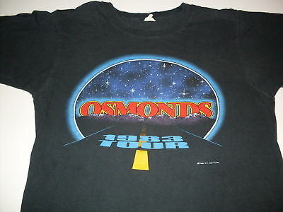 "Very rare vintage 1983 ""The Osmonds Tour"" concert tee-shirt size Medium"