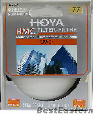 Hoya  77mm HMC UV (C) Multi-Coated Slim Frame Filter