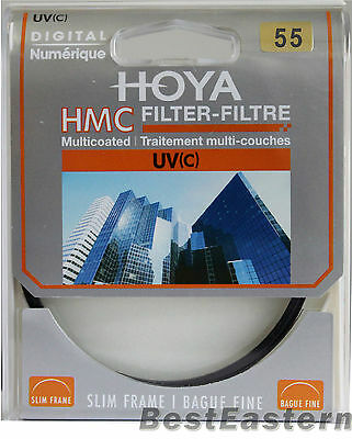 Genuine Hoya 55mm HMC UV(C) Multi-Coated Slim Filter 55 mm