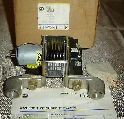Allen Bradley 810-A25A Magnetic Overload Relay 810A25A