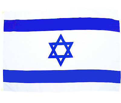 Fahne Israel Querformat 90 x 150 cm israelische Hiss Flagge Nationalflagge