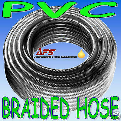 "19mm 3/4"" R PVC CLEAR HOSE PIPE FUEL AIR OIL WATER TUBE"