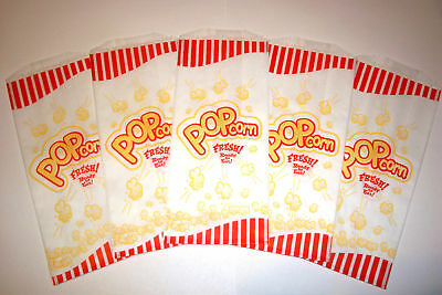 POPCORN BAGS 100 Pcs. 1 oz, OUNCE THEATER,PARTY,MOVIE