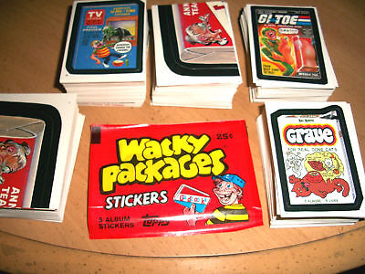 Wacky Packages 1986 Album Series Singles ( Pick Any 3 ) Great Price