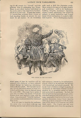 1889  London Mock Parliaments Cogers Society article