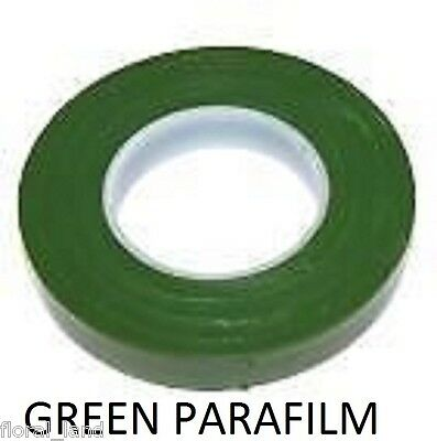 WEDDING Accessories PARAFILM GREEN FLORIST STEM WRAP FLORAL TAPE