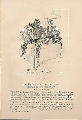 1894 Harvard Yale Boat Race Observations article
