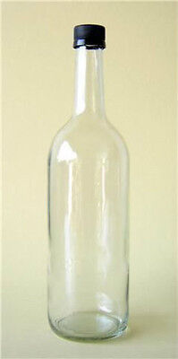 24 X 750ml MINERAL JUICE BOTTLE CORDIAL CIDER GLASS APPLE JUICE NEW