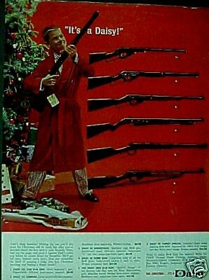 Daisy B-B Western Gun Boys Kids Toy Christmas 1963 Ad