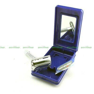 Copper Alloy Old Classic Double Edge Safety Razor Shave