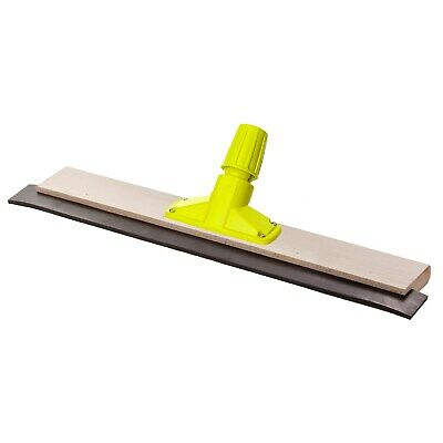 Wooden Floor Squeegee With 5ft Shank Heavy Duty 1 x 24''