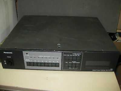 Panasonic Wj-Fs10 Digital  Frame Switcher