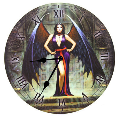 Lisa Parker WALL CLOCK, Fantasy/Goth/Cat in 5 Designs