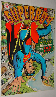 Superboy #143 Classic Neal Adams Cover Bright Vg/fn