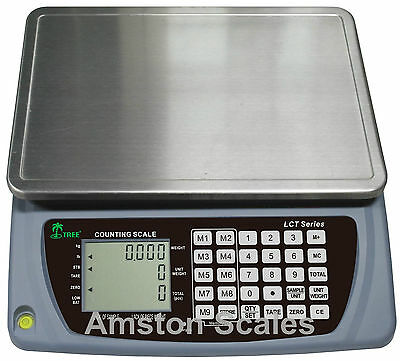 Digital Counting Parts Coin Scale U-Pick 3,7,16,33,66,110 Lb Capacity Inventory