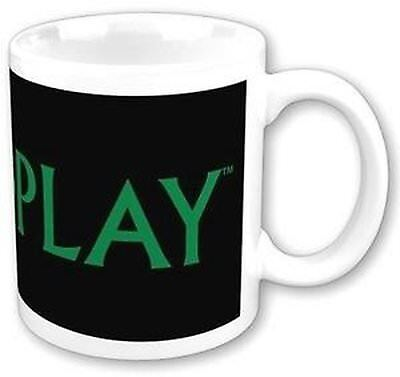 Coldplay Band Name Logo Coffee Mug White Black Green Boxed Fan Gift Cup X & Y