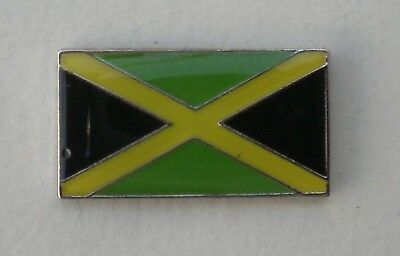 Jamaican Flag Quality Enamel Pin Badge