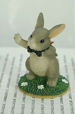 The Best...bunny~Charming Tails Retired Piece~Bunny~New In Box~Free Shipping Us~