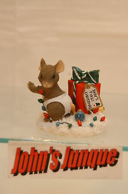 Baby's First Christmas Charming Tail 1999~Retired~New~In Box~Free Shipping Us~