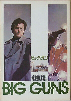 Big Guns - Japan Pressbook Alain Delon Rare !