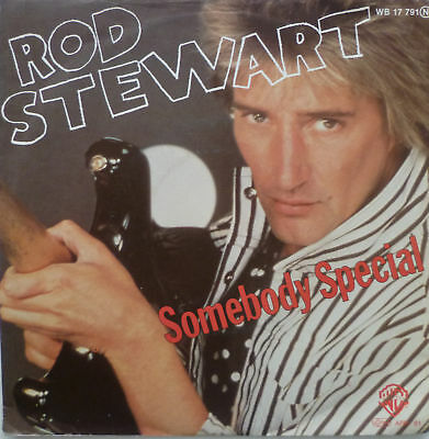 "7"" 1980 ! ROD STEWART : Somebody Special // MINT- \"