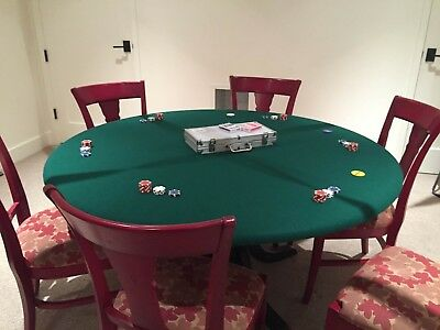 Poker Felt Table cloth - felt table cover MADE TO ORDER  mahjongg dice card game