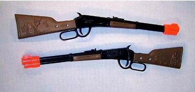 6 WESTERN LEVER RIFLE cowboy fun guns toy CAP gun NEW - $11 69