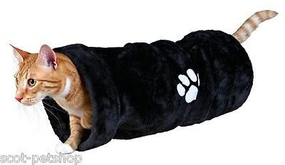 NEW Trixie Tunnel Plush Crunch Cat Cats Kittens 60 cm