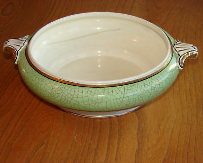 Booths Vegetable Tureen - CEYLON IVORY - GREEN - No lid