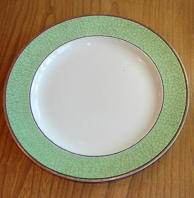 Booths Dinner Plate - CEYLON IVORY (Old Ivory) - GREEN