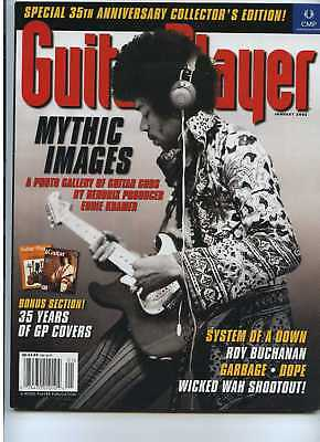 Guitar Player Jan 2002 Jimi Hendrix System of a Down