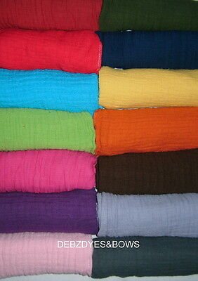 FUNKY COLOURED BABY MUSLINS/SQUARES/COMFORT BLANKET /baby shower/ photo shoots