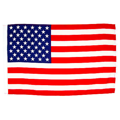 Stockfahne USA 30 x 45 cm U.S.A. ohne Stock Nationalfllagge USA