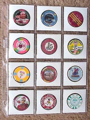 (10) Cowens 12 Pocket Vinyl Pages