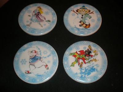 PAUL CARDEW ALICE IN WINTERLAND WONDERLAND COASTER SET