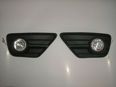 FORD FOCUS 2002-2004 fog lights lamp grille set NEW