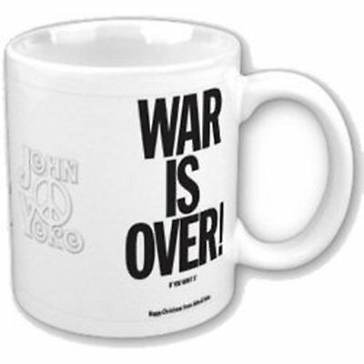 John Lennon War Is Over! If You Want It White Coffee Mug Boxed Official Fan Gift