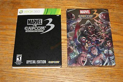 Marvel vs Capcom 3 Fate of Two Worlds SPECIAL EDITION Xbox 360 NEW