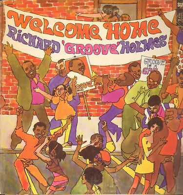 RICHARD GROOVE HOLMES - welcome home LP