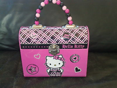 Hello Kitty PUNK PRINCESS Koferchen,Lunchbox SANRIO NEU
