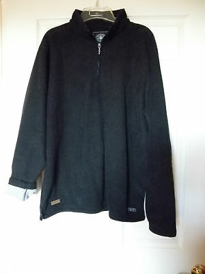 exclusive official Chrysler car Collection fleece pullover unused Large black