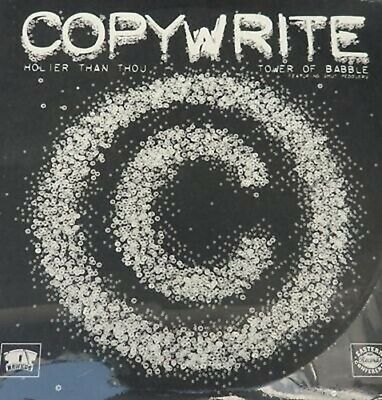 "Copywrite ""Holier Than Thou ""Hip Hop Record 12 Vinyl LP"