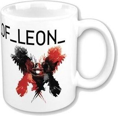 Kings Of Leon Only By The Night White Coffee Mug Boxed Official US Album Cover