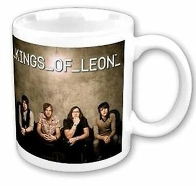 Kings Of Leon Band Photograph Picture White Coffee Mug Boxed Official Fan Gift